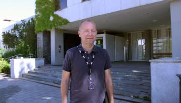 Lokaliseringsdirektør Jon Espen Lohne i NRK.