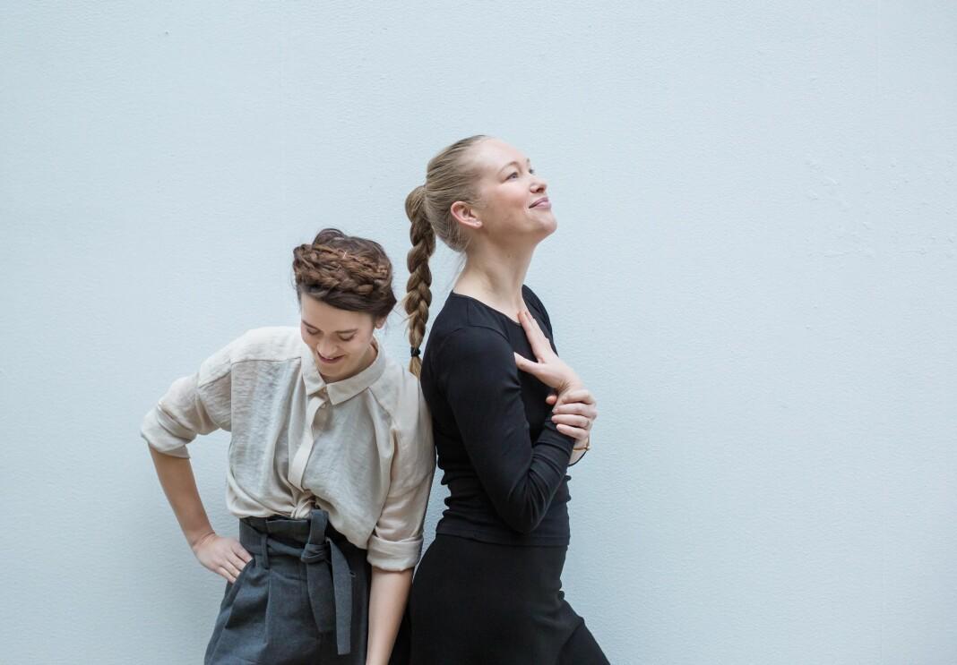 Hanna von Bergen og Christina Skreiberg lager podcasten Frilanslivet.