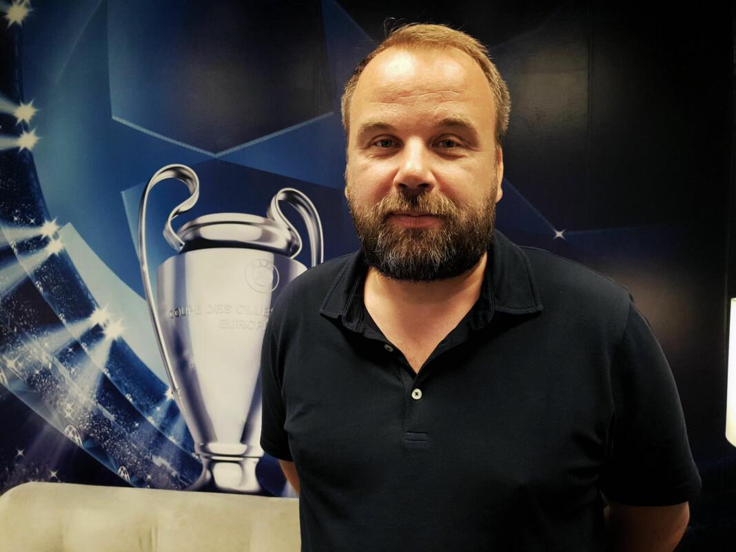 Andreas Toft går fra NRK til Viasportkanalene. Foto: Nentgroup / NTB scanpix