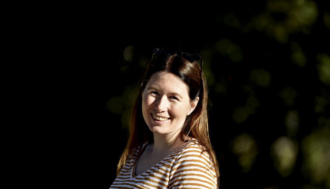 Helene Hovden rykker opp fra redaksjonssjef til redaktør i Norddalen. Foto: Thomas Tangen
