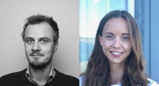 Paal Uvaag og Julie Nordby Egeland til Morgenbladet