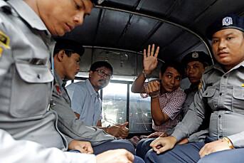 Pompeo ber Myanmar løslate Reuters-journalister