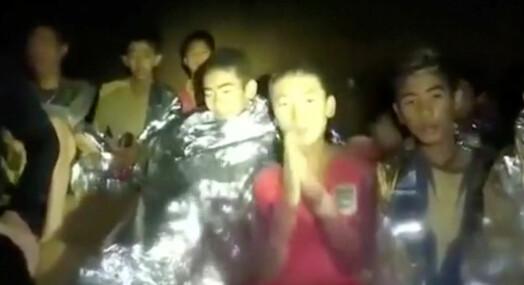 Stor interesse for grottedramaet i Thailand blant nordmenn