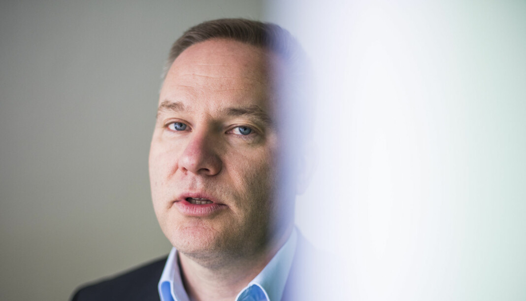 Redaktør Helge Lurås i nettstedet Resett.no, er ikke overrasket over underskuddet. Foto: Håkon Mosvold Larsen / NTB scanpix