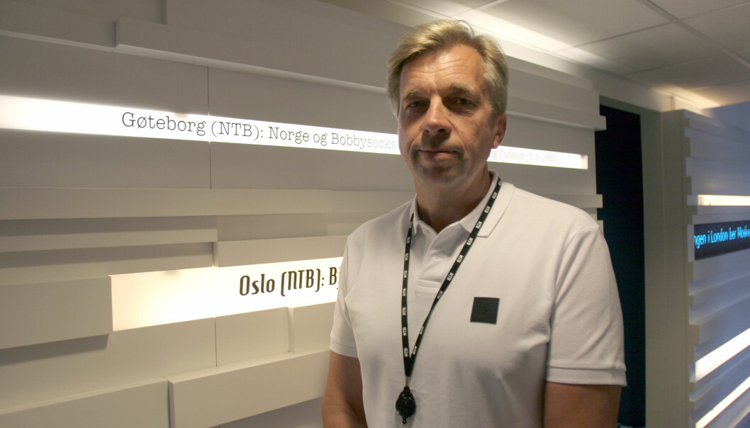 NTBs utviklingsdirektør Geir Terje Ruud. Foto: Glenn Slydal Johansen
