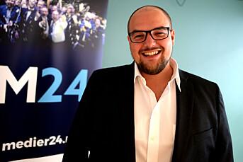 Aftenposten fillerister Medier24 på lederplass