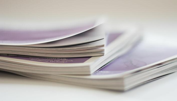 The Stack er en podkast om trykte publikasjoner. Foto: Pimthida / Flickr
