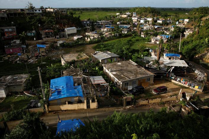 Mediekritiske On The Media faktasjekket dødstallene etter orkanen Maria på Puerto Rico. Foto: Carlos Garcia Rawlins / REUTERS / NTB scanpix
