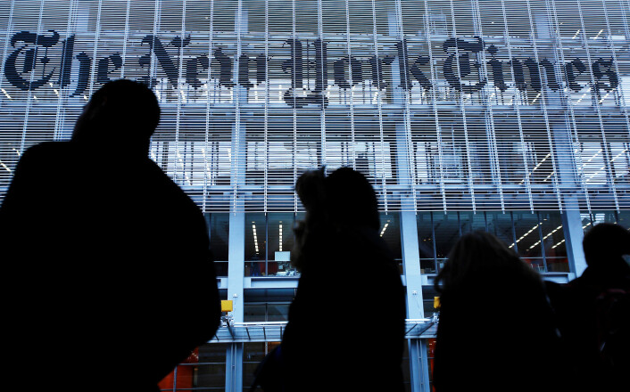 Longform intervjuer blant annet journalister fra New York Times. Foto: Carlo Allegri / REUTERS / NTB scapix