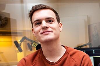 Karl Martin Jacobsen (25) fast ansatt som journalist i DT
