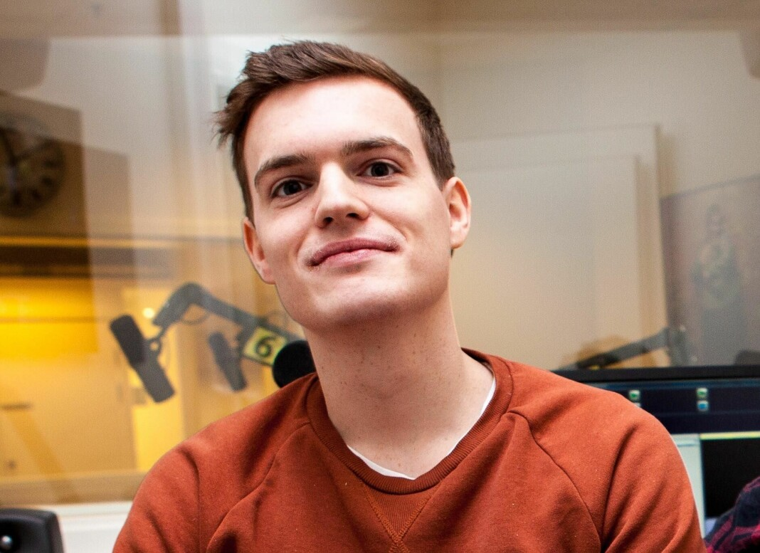 Karl Martin Jacobsen blir fast nyhetsjournalist i Drammens Tidende. Foto: Privat
