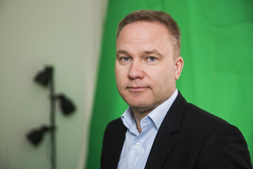 Redaktør i Resett.no Helge Lurås. Foto: Håkon Mosvold Larsen / NTB scanpix