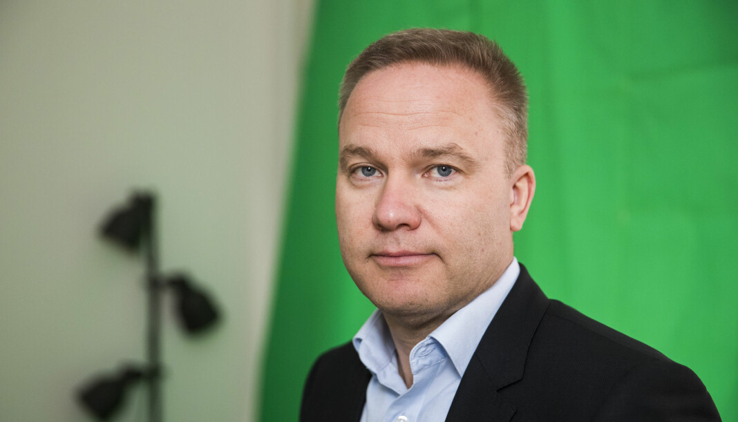 Ansvarlig redaktør og daglig leder Helge Lurås har latt seg vanne ut fra en 16,7 prosents eierandel i Resett til 6,8 prosent. Foto: Håkon Mosvold Larsen/NTB scanpix