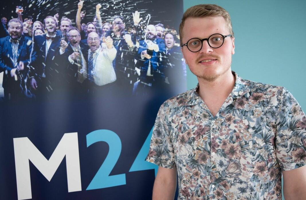 Ole Gunnar Onsøien forlater Medider24 for å jobbe med egne prosjekter. Foto: Medier24