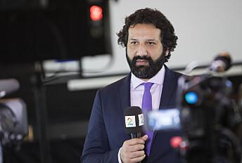 Kadafi Zaman, journalist i TV 2.