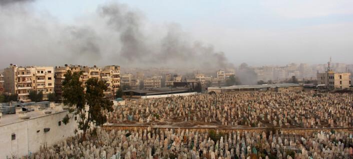 Syriske aktivister kjemper mot falske nyheter