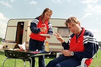 TILBAKEBLIKKET: NRKs Norway Cup-show i 1998 sendte fra campingvogn
