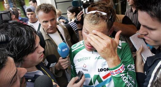TILBAKEBLIKKET: Thor Hushovd ble den mest omtalte personen i norske medier juli 2005