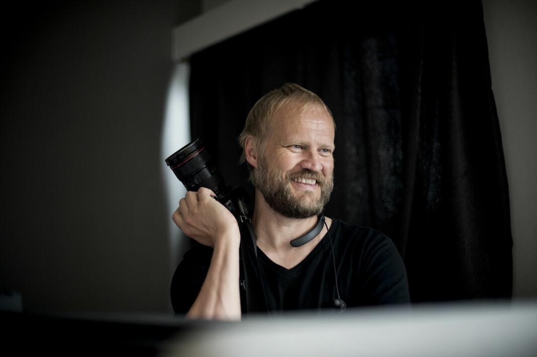 Tom Henning Bratlie er fotograf i Klassekampen. Foto: Siv Dolmen