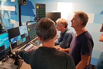 NRK tar i bruk egenutviklet teknologi for å sende TV