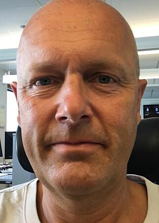Egil Ljøstad, leder for medieteknikk i NRK.