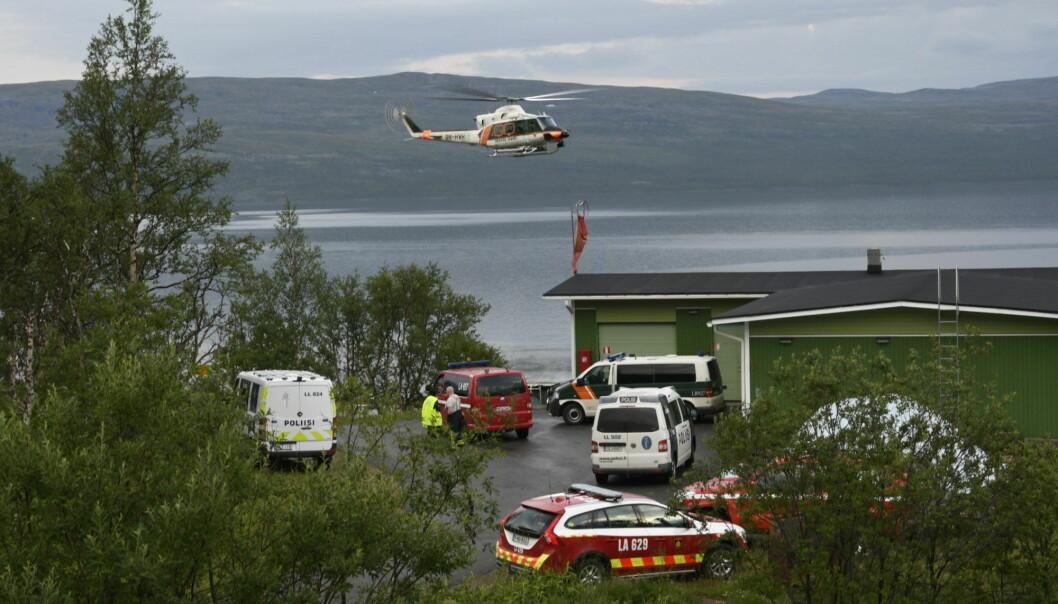 En nordmann omkom, og en ble lettere skadd da et gyrokopter styrtet ved Kilpisjärvi i Finland lørdag ettermiddag. Foto: Gareth Hutton / NTB scanpix