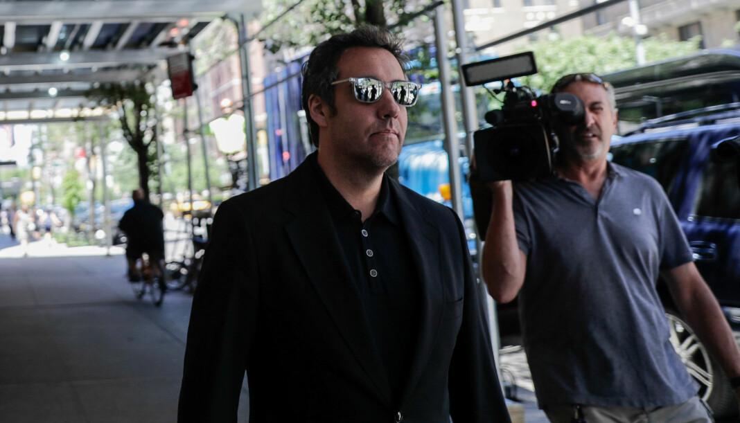 – Jeg angrer virkelig på min blinde lojalitet til en mann som ikke fortjener det, tvitrer Michael Cohen. Foto: Reuters / NTB scanpix