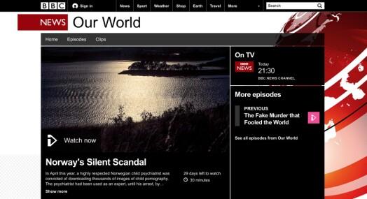 BBC med dokumentar om norsk barnevern