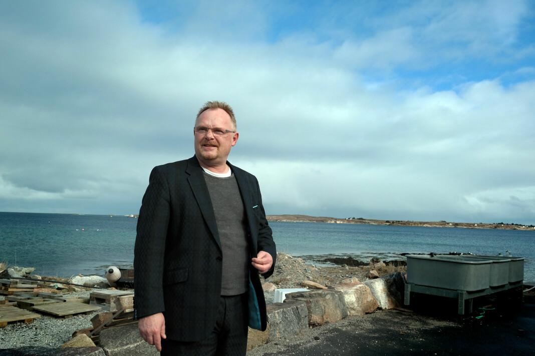 Fiskeriminister Per Sandberg får han kritikk fra flere innvandringskritiske nettsteder som tidligere har støttet ham. Foto: Nærings- og fiskeridepartementet