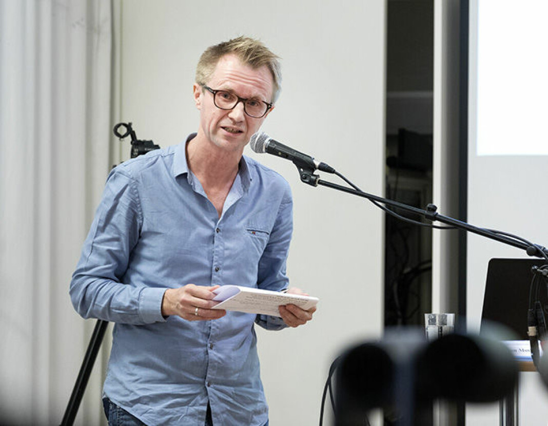 Håkon Moslett går fra P3 til Nyhetsdivisjonen i NRK. Foto: Gorm Kallestad / NTB scanpix