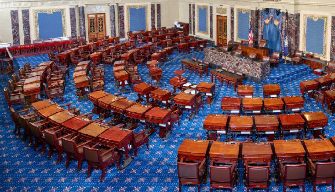 Det amerikanske senatet deler ikke president Donald Trumps syn på at pressen er en fiende av folket. Foto: Wikipedia Commons