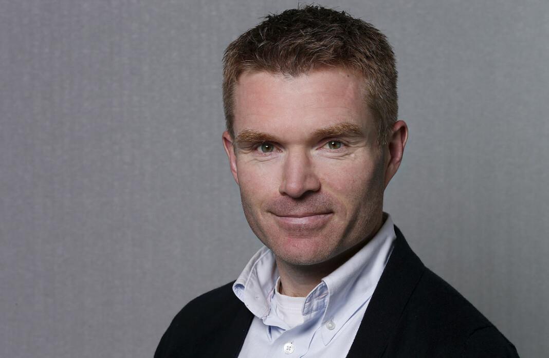 Gir seg på topp: Hallstein Vemøy skal nå jobbe med utviklingsprosjekter i NRK. Foto: NRK