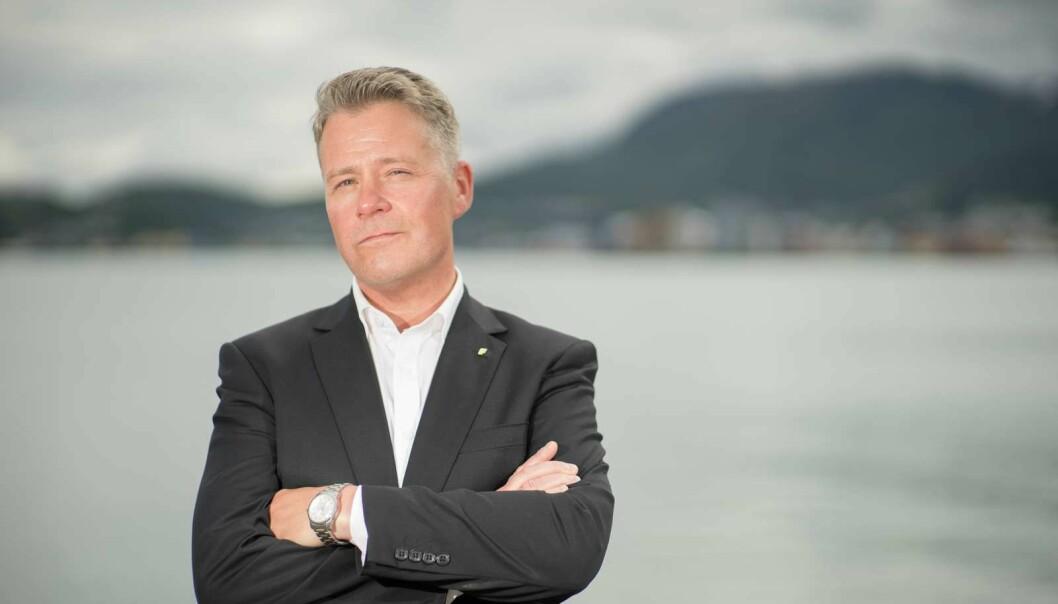 Stortingsrepresentant Per-Willy Amundsen raser mot Facebook, som skal ha sensurert et av innleggene hans. Foto: Arne Petter Lorentzen / Frp