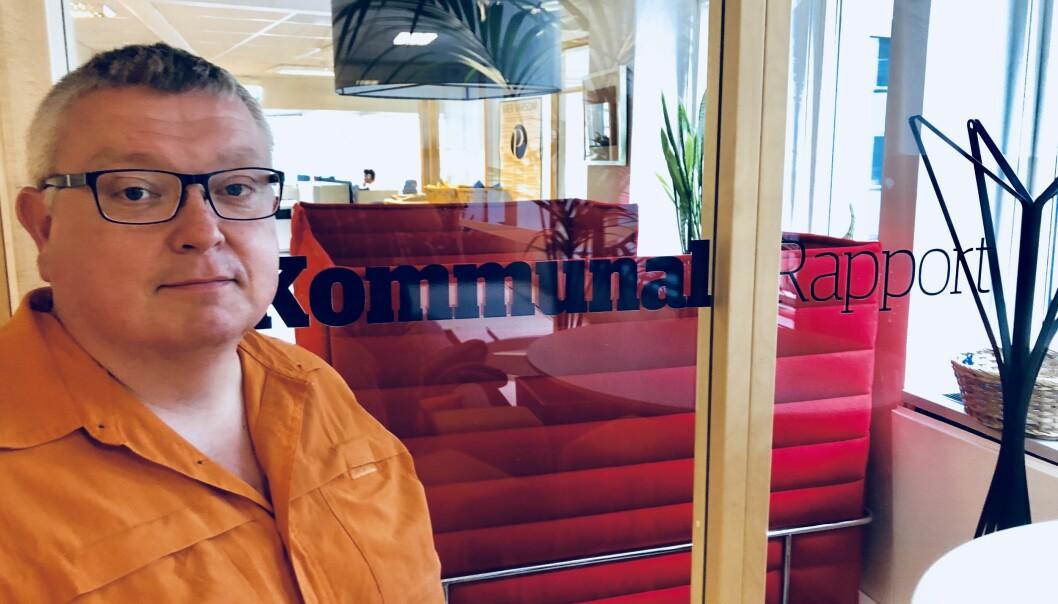 Fredag 31. august er jeg antakelig verdens mest produktive redaktør, skriver utviklingsredaktør Ole Petter Pedersen i Kommunal Rapport. Foto: Roger Aarli-Grøndalen