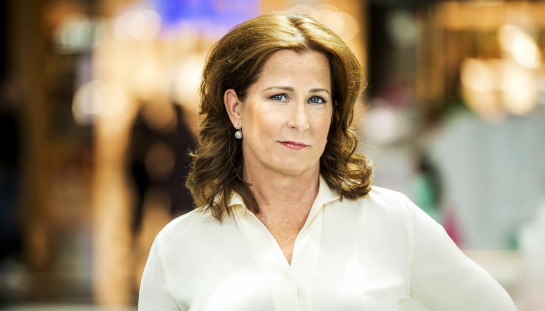 Programleder i SVT Anna Hedenmo mener at pressens dekning av Sverigedemokraterna har endret seg mye. Foto: Janne Danielsson/SVT.