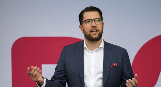 – Sverigedemokraterna blir dekket på en helt annen måte i dag