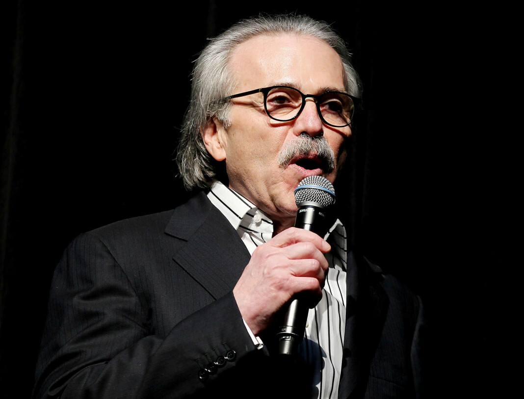 David Pecker, som eier National Enquirers morselskap American Media, er igjen i hardt vær. Foto: Reuters / NTB scanpix