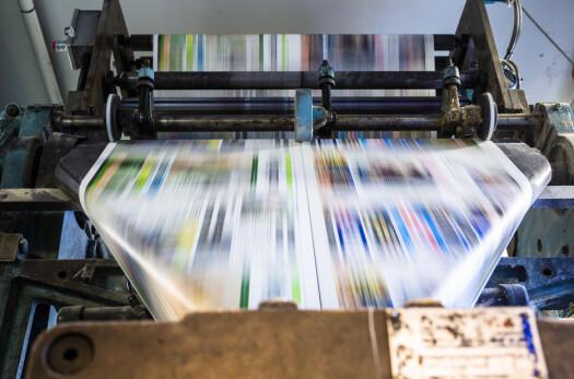 Øksnesavisa kommer ut en gang i uka og trykkes på Sortland.