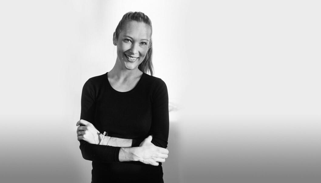 Christina Skreiberg er en av dem som står bak podkasten Frilanslivet. Foto: Marte Vike Arnesen