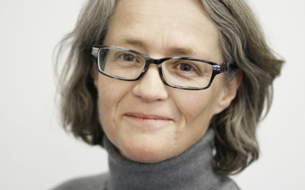 Redaktør for bladet Psykisk helse, Cathrine Th Paulsen, håper flere journalister vil bli mer bevisst om hvordan de omtaler psykisk syke. Foto: Paal Audestad