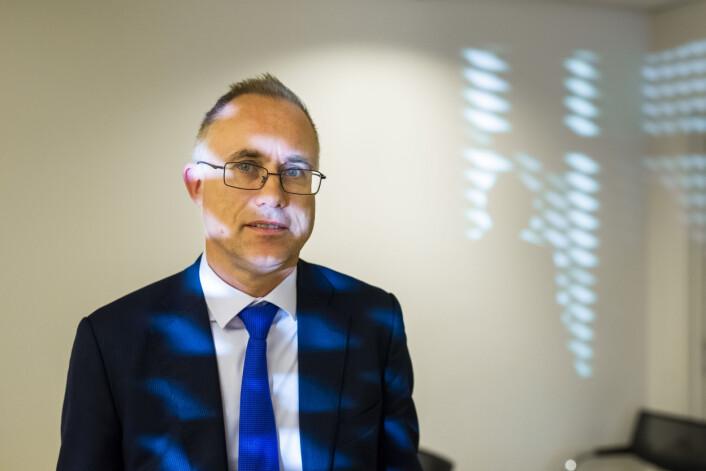 Advokat Tarjei Thorkildsen representerer Spekter/NRK i Arbeidsretten. Foto: Kristine Lindebø