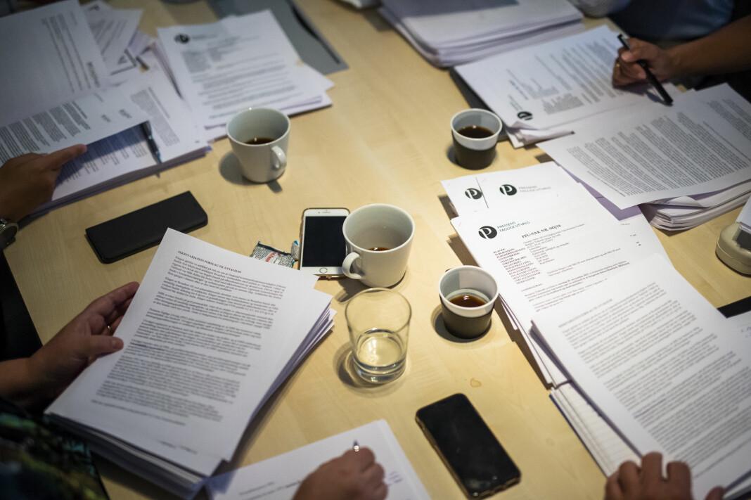 Møte i Pressens Faglige Utvalg, PFU. Illustrasjonsbilde. Foto: Kristine Lindebø