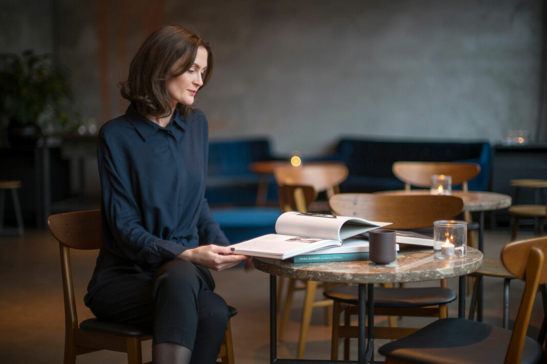 I denne ukes podkast møter vi designer Nina Ansten. Foto: Torstein Brechan