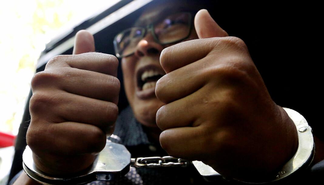 Dommen på sju års fengsel mot Kyaw Soe Oo og Wa Lone (bildet) blir stående etter at høyesterett har avvist de to journalistenes anke. Arkivfoto: Reuters / NTB scanpix