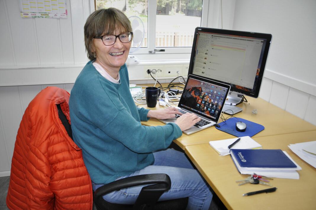 Vigdis Kroken er journalist i Fjuken, lokalavisa i Ottadalen i Oppland. Foto: Privat