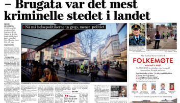 Faksimile Dagsavisen 17. mars 2018