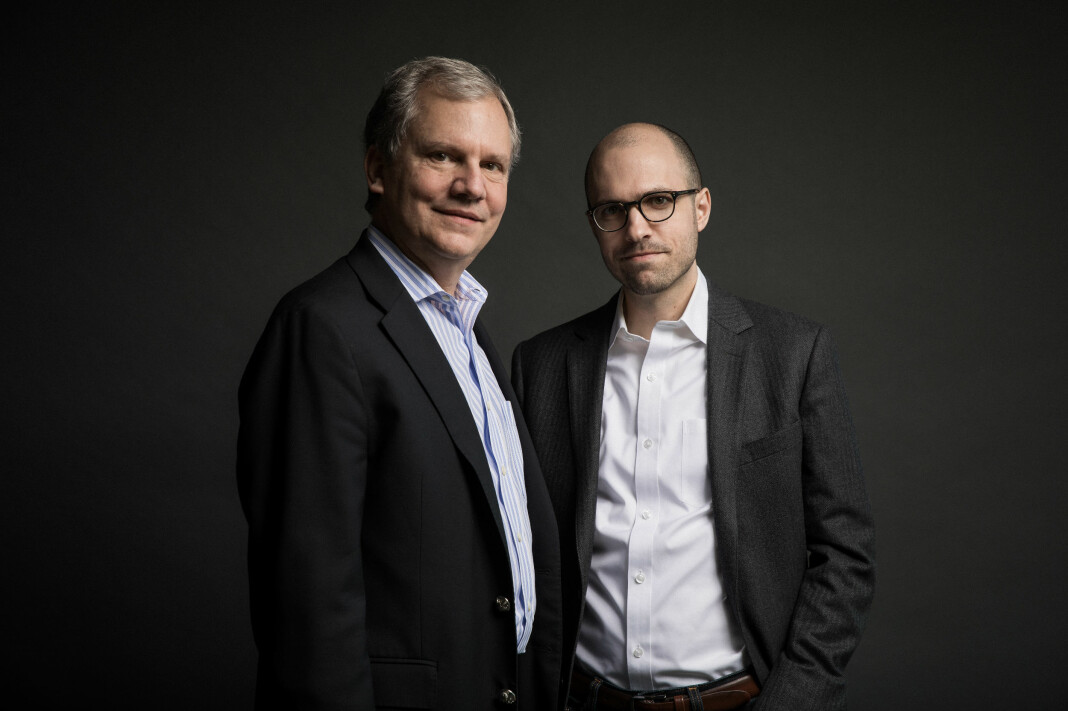 New York Times´ styreleder og publisher: Arthur Sulzberger, Jr. and A. G. Sulzberger. Foto: Damon Winter/The New York Times