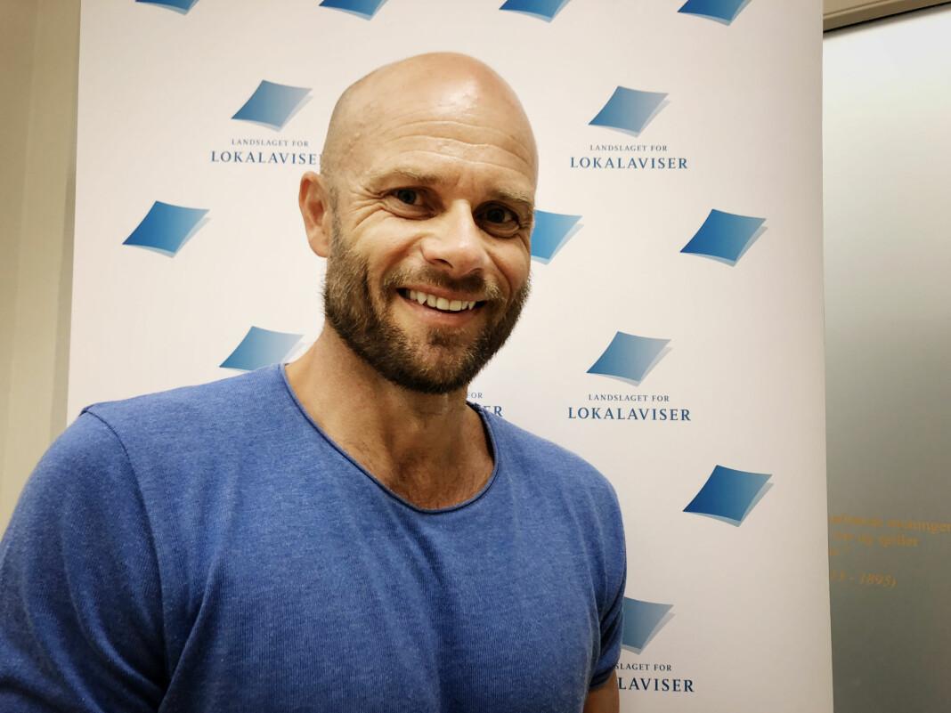 Journalist Thomas Frigård er med på å lage Gull & Gråstein-konferansen. Foto: Roger Aarli-Grøndalen