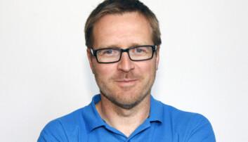 Fungerende redaksjonssjef Kristian Hovstad i Her og nå. Foto: Jon Annar Fordal/NRK