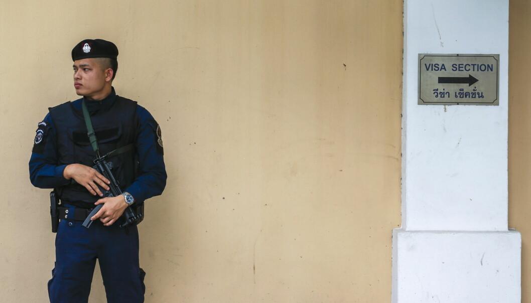 Politiet i Thailand har pågrepet elleve personer som delte nyhetssaken fra en britisk nettavis. Illustrasjonsfoto: Reuters / NTB scanpix